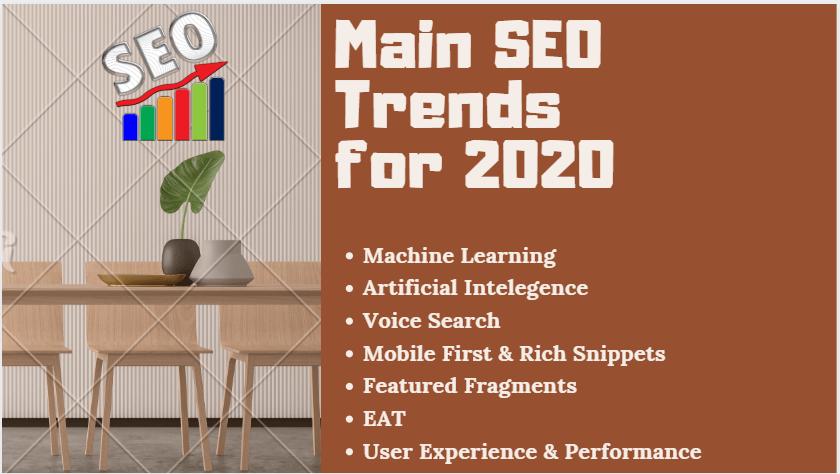 Main SEO Trends 2020