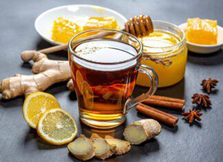 Ginger With Tea
