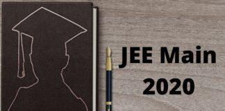 JEE Main 2020