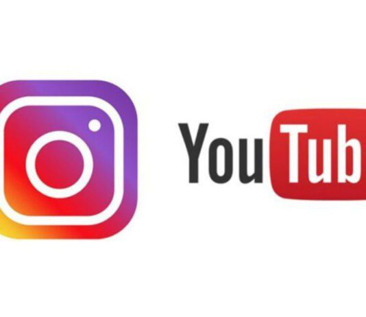 Youtube and Instagram