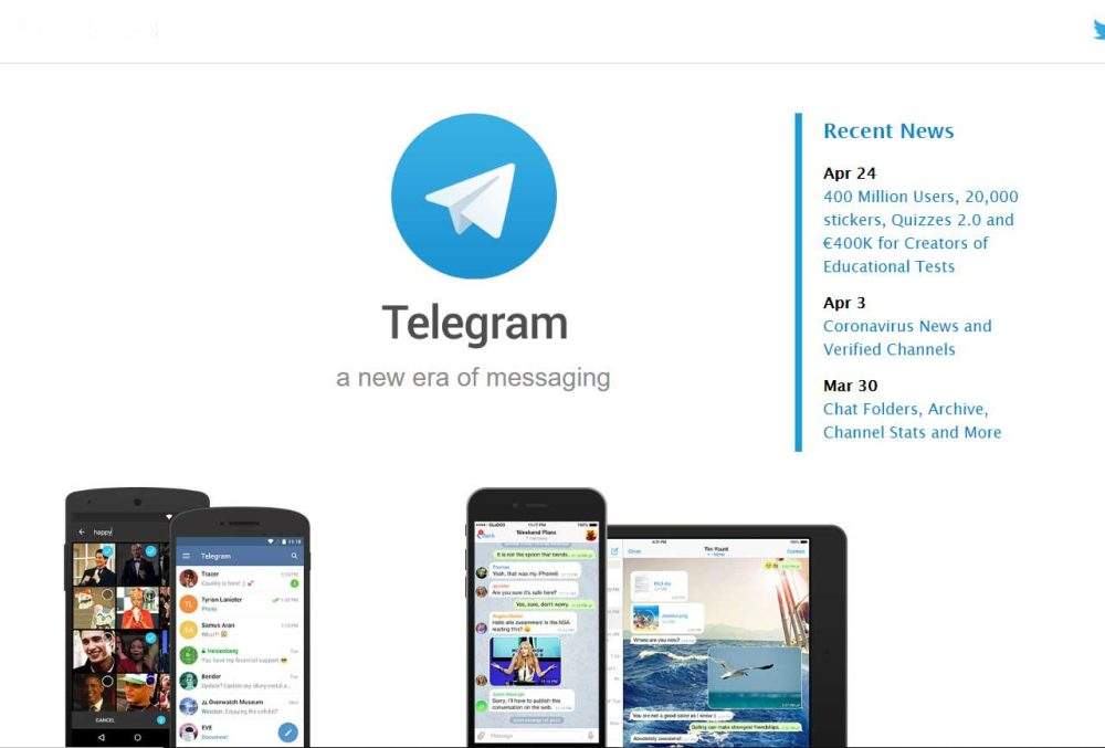 Telegram file transfer