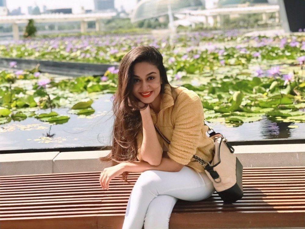Actress Aishwarya Arjun
