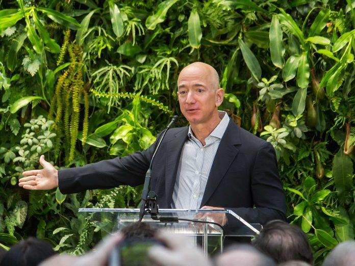CEO of Amazon Jeff Bezos