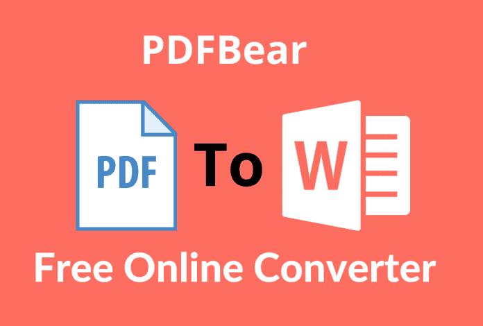 Free Online converter PDFBear