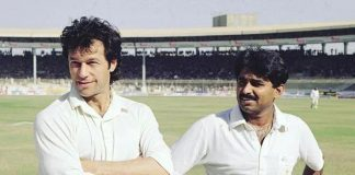 Javed Miandad and Imran Khan