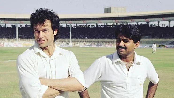 Javed Miandad and Imran Khan