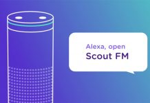 Apple podcast app Scout FM