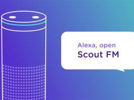 Apple podcast app Scout FM
