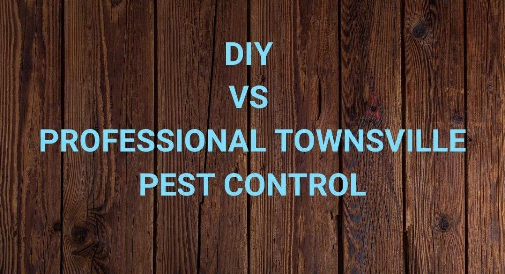 DIY vs Professional Townsville Pest Control