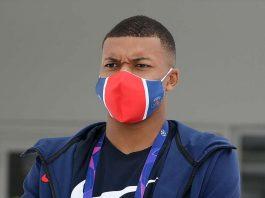 French Football Star Kylian Mbappe