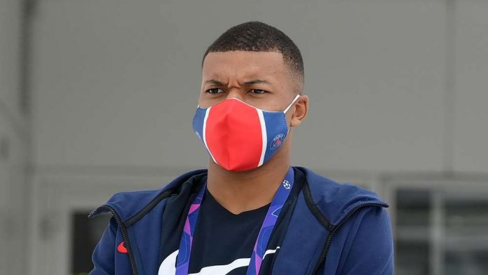 French Football Star Kylian Mbappe