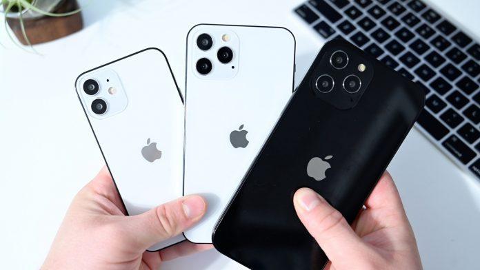 إطلاق سلسلة Apple iPhone 12