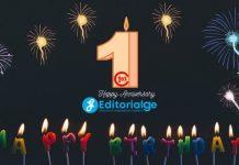 First Happy Anniversary Editorialge