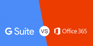 Google G Suite vs Office 365