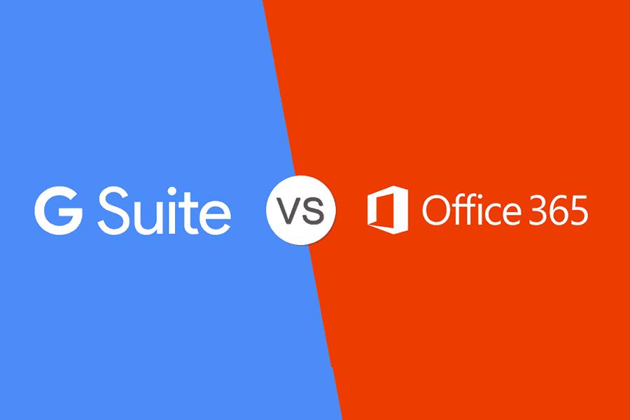 Google G Suite vs Office 365