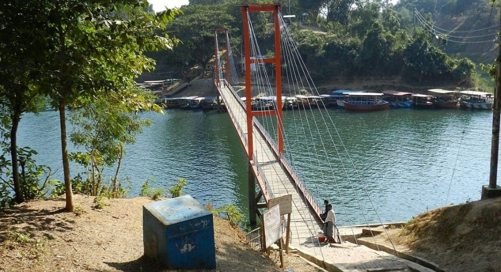 Hanging Bridge Rangamati