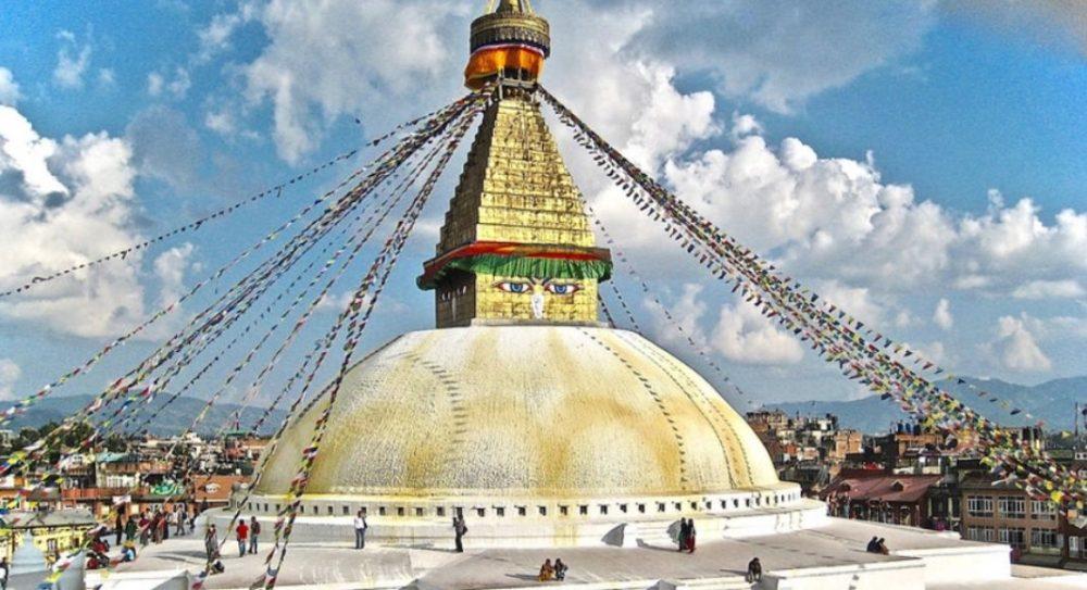 Nepal buddhist temple, Kathmandu