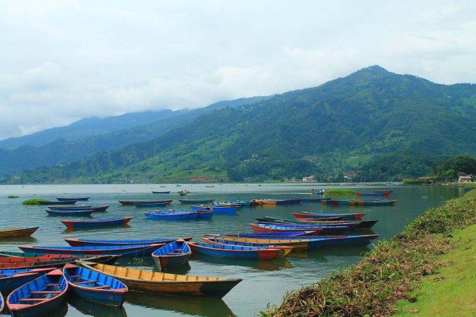 Pokhara Nepal Boats