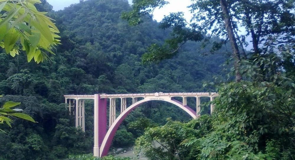 Sevok corretion Bridge, Siliguri