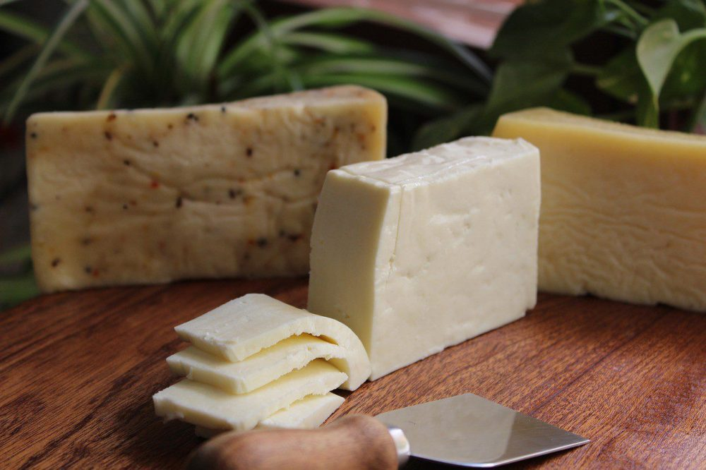 Cheese in breakfast