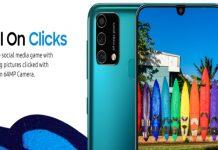 Samsung Galaxy F41 smartphone