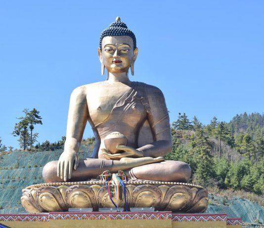 Buddha Statue in Bhutan