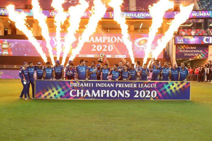 IPL 2020 Champions