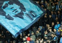 Naples bid farewell to Diego Maradona.