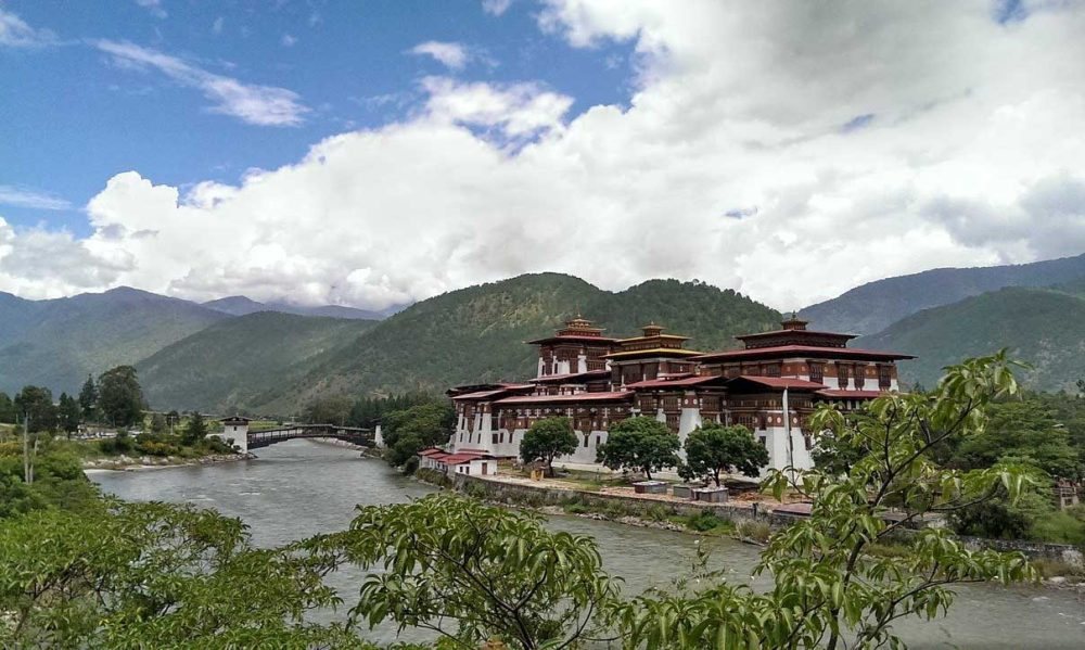 Punakha Place in Bhutan