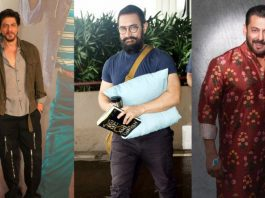Three Bollywood Khans