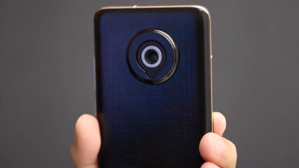 Xiaomi smartphone telescopic lens