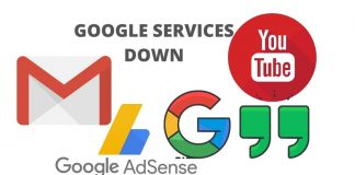 Google Services Down