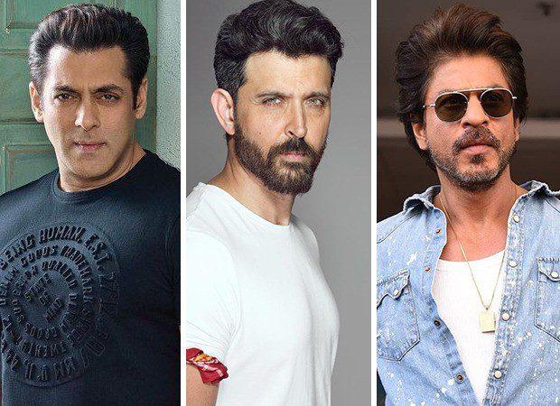 Salman Khan, Hrithik Roshan and Shah Rukh Khan