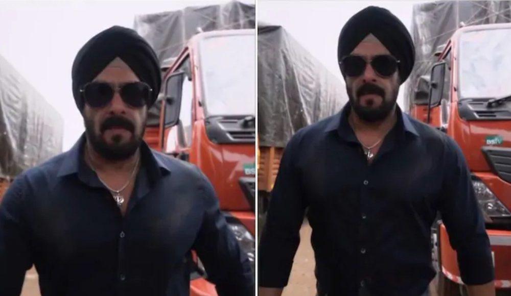 Salman Khan in Antim: The Final Truth