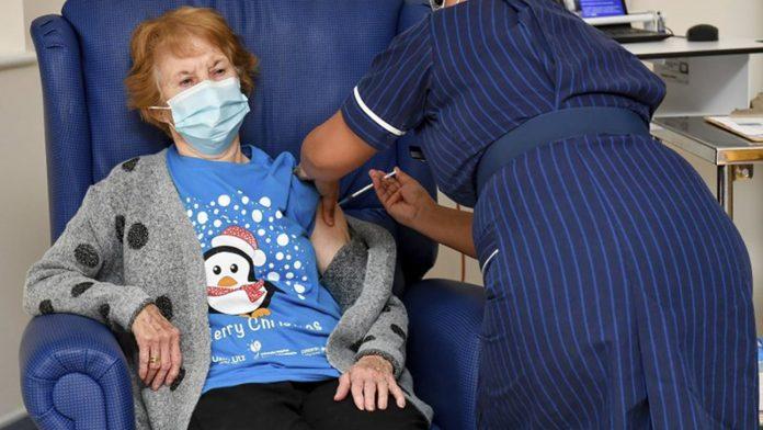 UK Coronavirus vaccine