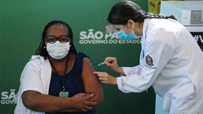 Coronavirus vaccination in Brazil