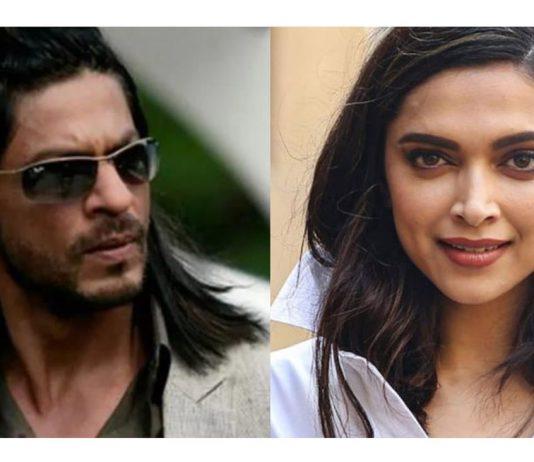 Shah Rukh Khan and Deepika Padukone