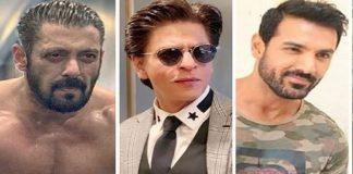 Salman Khan, Shah Rukh Khan and John Abraham