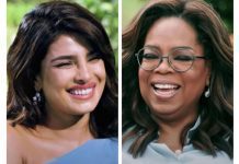 Priyanka Chopra and Oprah Winfrey