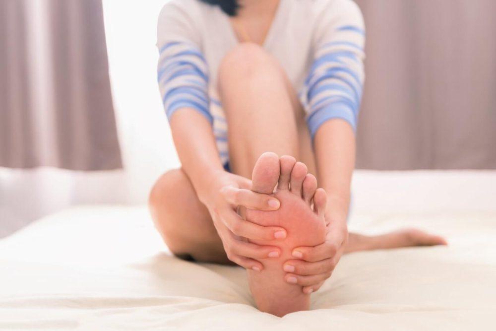 Cracked Foot Skin