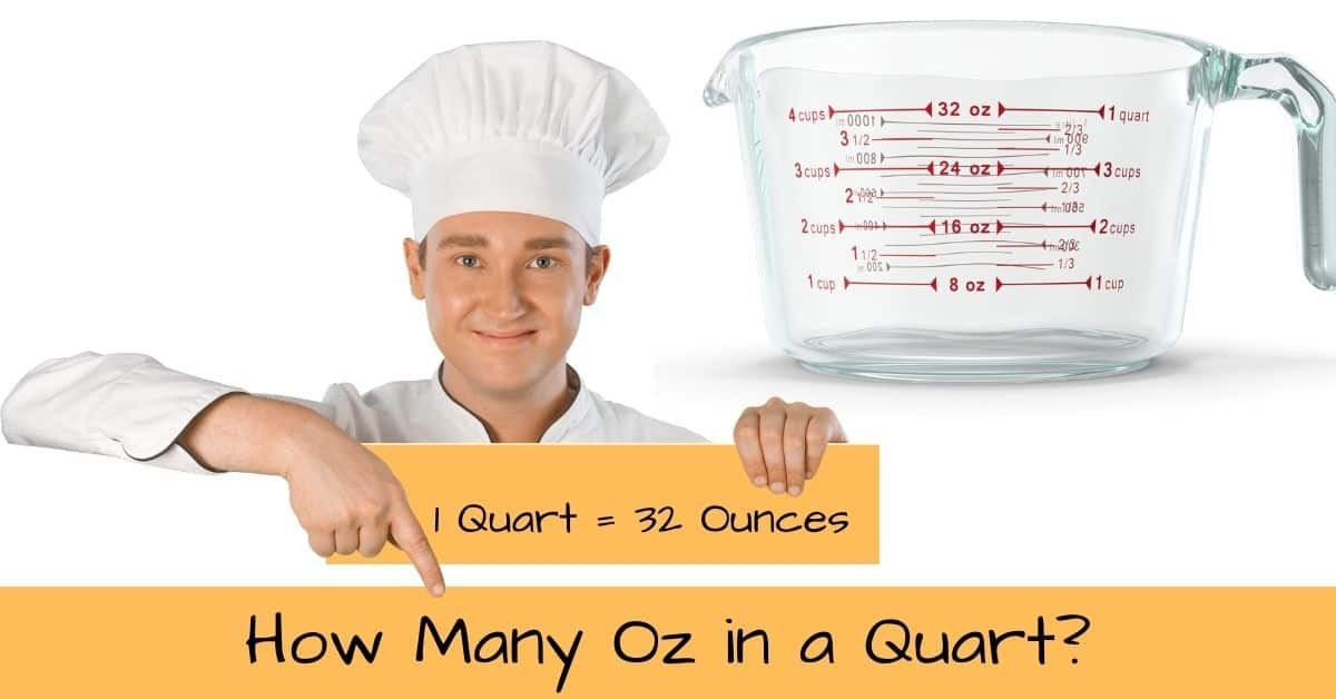 How Many Ounces in a Quart