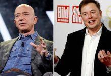 Jeff Bezos and Elon Musk