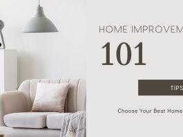 Home Improvement 101 Tips