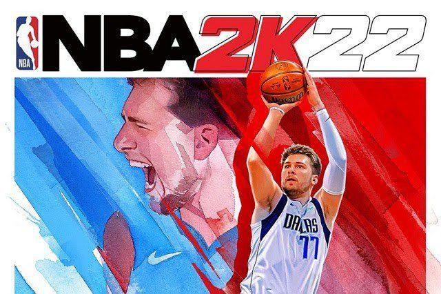 NBA 2K22 Cover Athlete