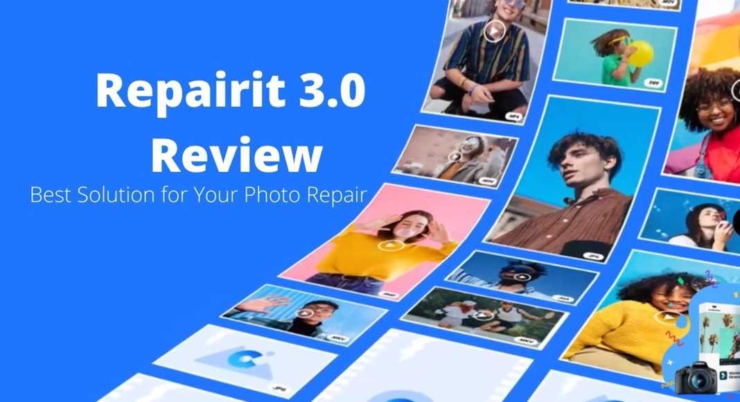 Repairit 3.0 Review for photo repair solution