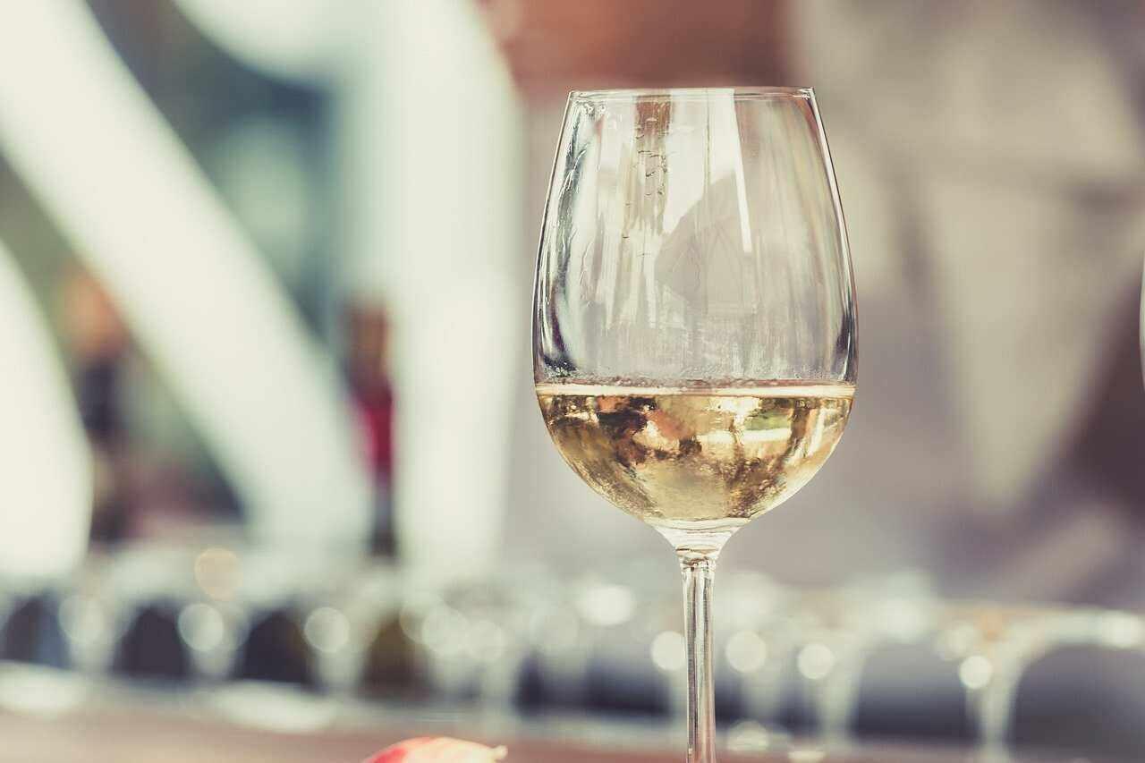 Dry White Wine Glass