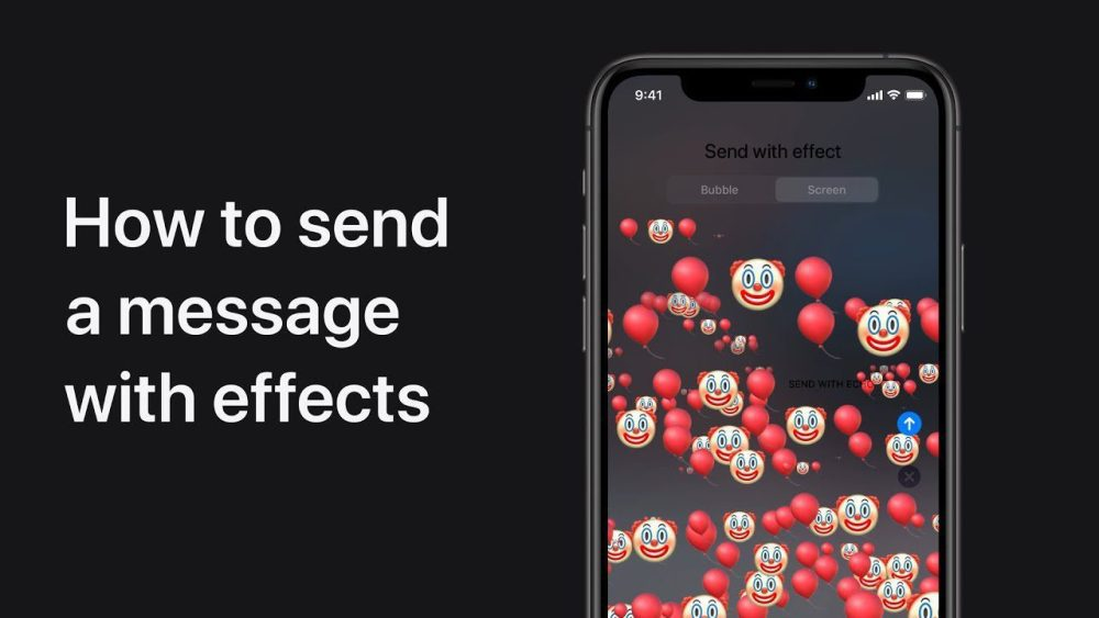 How to use text message effects on iPhone