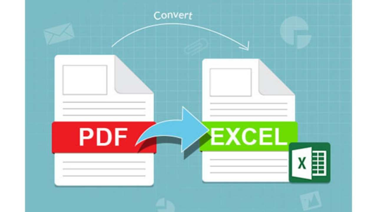 Convert PDF Into XLS / 1