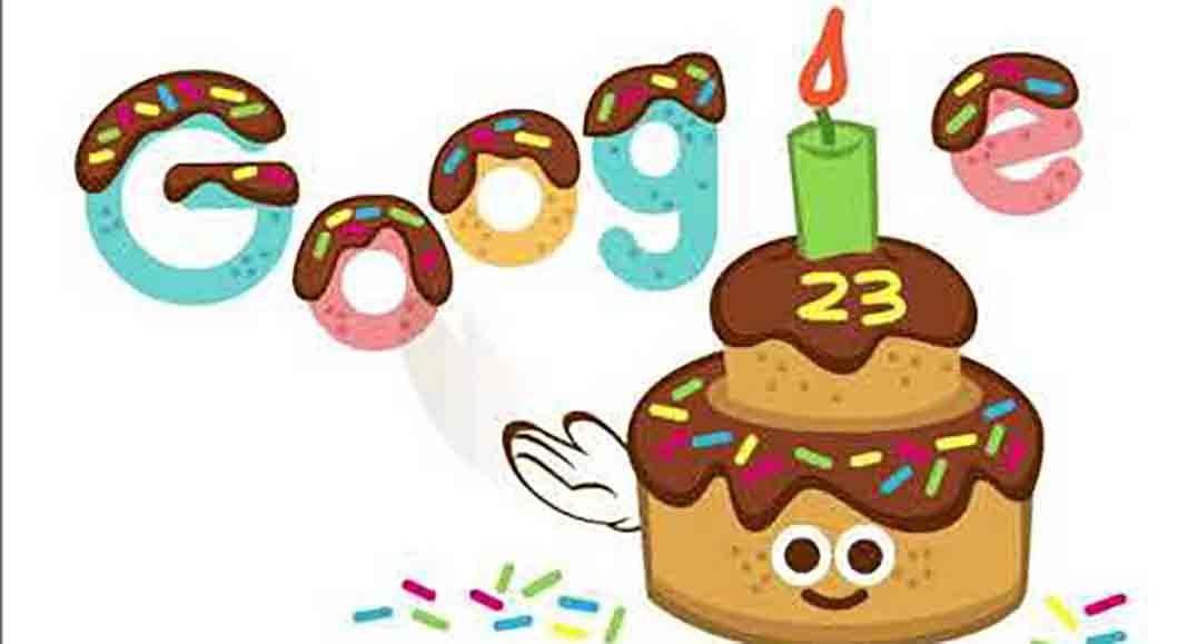 google-23rd-birthday