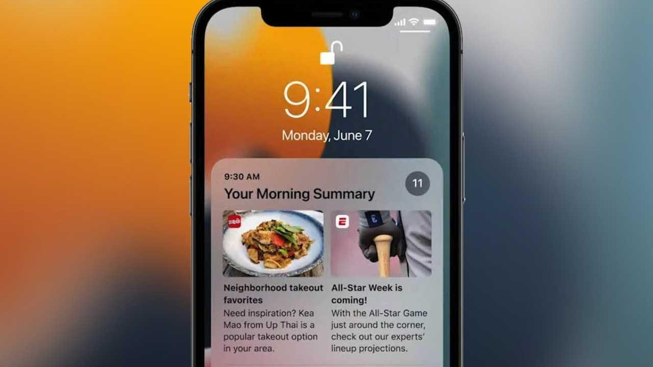 Apple iOS 15.0.1 Update